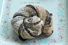girelle di pan brioche alla nutella ricetta dolce IL MIO SAPER FARE