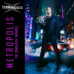 """Single cover for the remixed Terminatryx song """"Metropolis"""". Image by Dr-Benway Layout & logos by Paul Blom Cover Art, Layout, Songs, Concert, Artwork, Movies, Movie Posters, Fictional Characters, Image"""