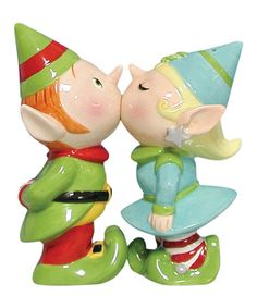 This Elves Salt & Pepper Shakers is perfect! #zulilyfinds
