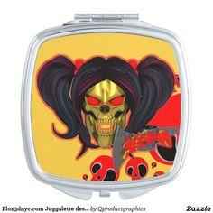 Blox3dnyc.com Juggalette design Makeup Mirror. #Juggalette  #juggalo #wicked #family #fangs