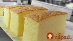 "Ogura cake, aka 相思蛋糕, hails from Batu Pahat , Malaysia. ""Ogura"" is a Japanese surname; ""相思"" means lovesick. Is there a love story behind th. Cake Videos, Food Videos, Food Cakes, Cupcake Cakes, Cupcakes, Bolo Chiffon, Ogura Cake, Cake Recipes, Dessert Recipes"