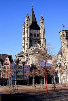 Great St. Martin Church by Roveclimb, via Flickr ~ Cologne, Germany