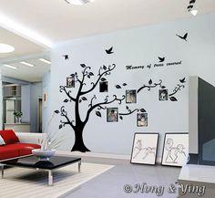Photo Tree Giant Removable Wall Decor Vinyl Decal Sticker Art Mural Deco DIY Kid   eBay