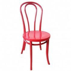 Bentwood Dining Chair 214 - Thonet Reproduction - Red