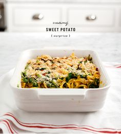 Sweet Potato Surprise - vegan