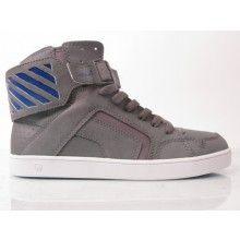 CIRCA Shoes // C1rca Convert Shoe Charcoal/royal/white