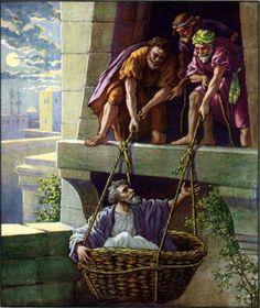 Paul Escapes Damascus Acts 925