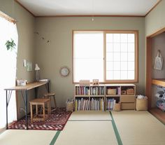Japanese Apartment, Tatami Room, Interior And Exterior, Interior Design, Casa Real, Living Spaces, Living Room, Cool Rooms, Home Organization