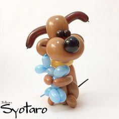 2018/1/25 バルーンアートのイヌと犬 Balloon art Dog and Dog - #毎日バルーン #バルーンアートのイヌ #握ったまま離さない #バルーンアート #バルーン #風船 #犬 #いぬ #わんこ #かわいい #balloonart365 #dog #puppydog #balloonart #balloontwisting #balloons #cute