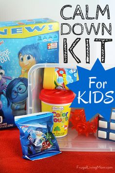 """""""Calm Down Kit"""" for Kids #ad .One of the techniques we have used is learning how to calm down and would love to share a """"Calm Down Kit"""" the girls and I created (and why the tools in it are so great!)."""