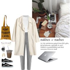 A fashion look from August 2016 featuring Glamorous tops, H&M coats and Oasis pants. Browse and shop related looks. Polyvore Outfits, Polyvore Fashion, Cropped White Shirt, Androgynous Look, Alternative Fashion, Alternative Style, Roberto Coin, Tumblr Outfits, Hippie Outfits