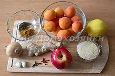 Ингредиенты для чатни из абрикосов