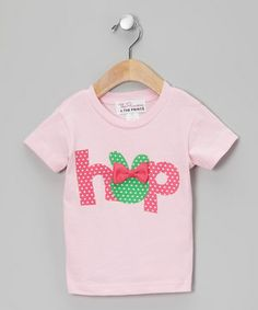 Loving this The Princess and the Prince Pink 'Hop' Tee - Infant, Toddler & Girls on #zulily! #zulilyfinds