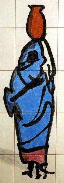 BLUE SAHRAWI -VERSION (Saharaui azul -Versión) -Not to be sold///No para la venta.