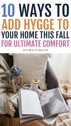 This is the perfect guide for using Hygge to stay cozy in the fall. Hygge is all about comfort and coziness and by following these 10 tips you'll reap the benefits of less stress and anxiety as well as practicing gratitude. #hygge #falltips Reap The Benefits, Practice Gratitude, Health And Fitness Tips, Best Self, Stress And Anxiety, Hygge, Beauty Hacks, Fall, Fall Season