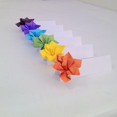 Place Cards Wedding Escort Cards Origami Paper by nikkiPOParts, $30.00