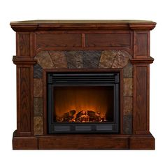 I pinned this Market Electric Fireplace from the Adirondack Cabin event at Joss and Main!