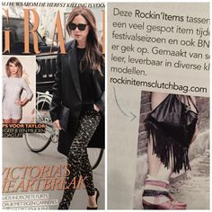 Rockin'items-Clutchbag at Grazia Magazine http://www.rockinitems.com/Clutchbag-Rockin-Items-fringe-black