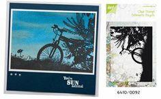Noor! Design Stempel Silhouettes Bike 6410/0092
