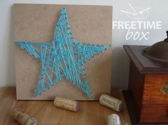 Cadre art string Adeline Freetime Box