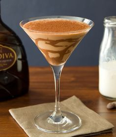 Exreme Chocolate Martini  Please visit us at www.JimWelbornBarServices.blogspot.com and http://www.creativeelegancecatering.com/jim-welborn-bar-services