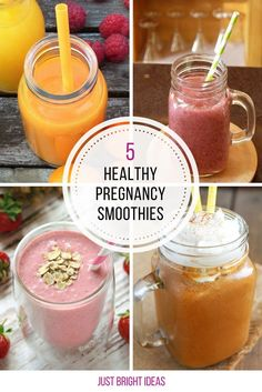 5 Healthy Pregnancy Smoothie Recipes You Need to Drink
