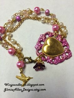 Wings And Beads: BUILD A LINE CHALLENGE BLOG HOP PART 2
