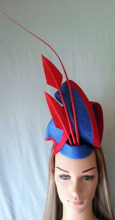 Trio in Red   BY LINDA FORD  #millinery #hats #HatAcademy