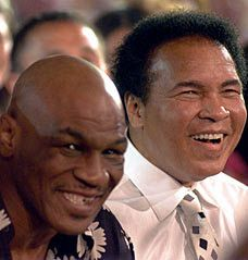 Muhammad Ali & Mike Tyson: two of the greatest fighters of all time
