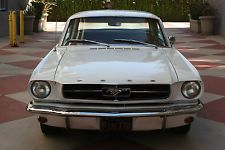 Ford : Mustang NO RESERVE 1965 Ford Mustang clean CA rust-free Black plates matching #'s original 64 66