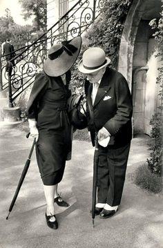 At Longchamp 1951 Henri Cartier-Bresson