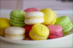 These beautiful and delicate French pastries have exploded in popularity and today we celebrate Macaron Day! New Recipes, Holiday Recipes, Macaroon Cake, Best Bakery, French Macaroons, Pastry Shop, French Pastries, Yummy Cakes, Cravings
