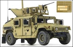 Academy 1/35 M1151 (H2) U.S. Detail version plastic model kit /military/Free tra #Academy