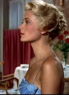Hitchcock loved the moment in his films when the icy blond melted, and in To Catch a Thief, she really does-- Grace Kelly
