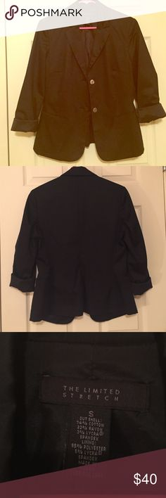 The Limited blazer Black blazer. Very versatile. Good condition. The Limited Jackets & Coats Blazers