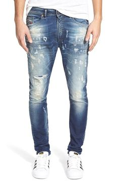 Men's DIESEL 'Spender' Slim Fit Denim Jogger Pants (670U)