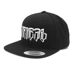 3ad0f163b05 Tribal Streetwear Huit Logo Snapback Hat Black Baseball Cap Flat Brim   TribalGear  BaseballCap