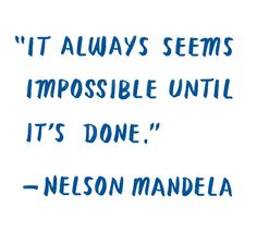 Quote of the Day: Nelson Mandela   The Tory Blog