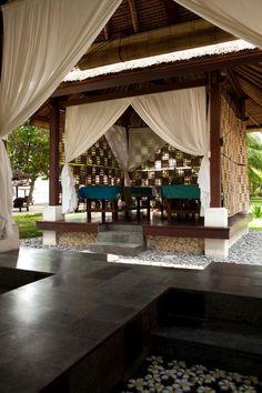 Open-Air Spa Terraces in Bali