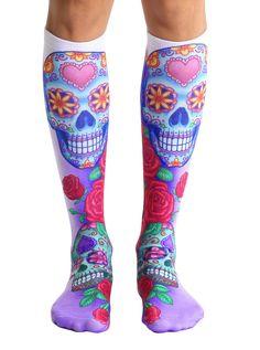 Dia Knee High Socks