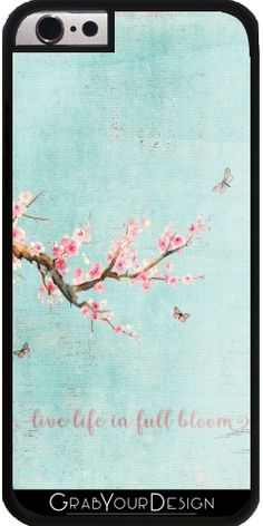 GrabYourDesign - Case for Iphone 6/6S Cherryblossoms in spring - by UtArt