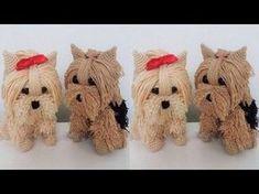 Mónica Astudillo - Bienvenidas TV en HD - Teje un perrito en amigurumi en crochet. - YouTube