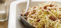 Salade de chou, de pommes et de pacanes Recettes | Ricardo