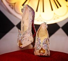 Louboutin's Cinderella Slippers: Sparkles And Butterflies — StyleFrizz