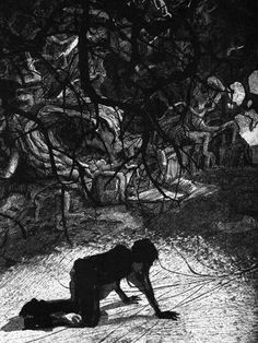 """""""A Monster Calls"""" by Patrick Ness. Illustrated by Jim Kay"""