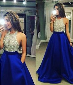 Royal Blue Prom Dress Prom Dresses Evening Party Gown Formal Wear on Storenvy