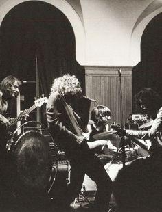 Led Zeppelin, rehearsal