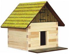 Set de constructie din lemn - Patul pentru fan – Walachia. Produs recomandat copiilor cu varsta peste 8 ani. Acceseaza link-ul sau comanda prin email la adresa comenzi@dmkids.ro. Cod produs DMK12528, pret 57,79 lei