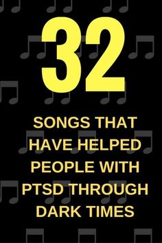 32 Songs That Have Helped People With PTSD Through Dark Times Mental Illness, Ptsd Awareness, Mental Health Awareness, Stress Disorders, Mental Disorders, Music Therapy, Trauma Therapy, Occupational Therapy, Art Therapy