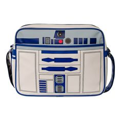 Star Wars R2D2 Retro Messenger Bag (White)